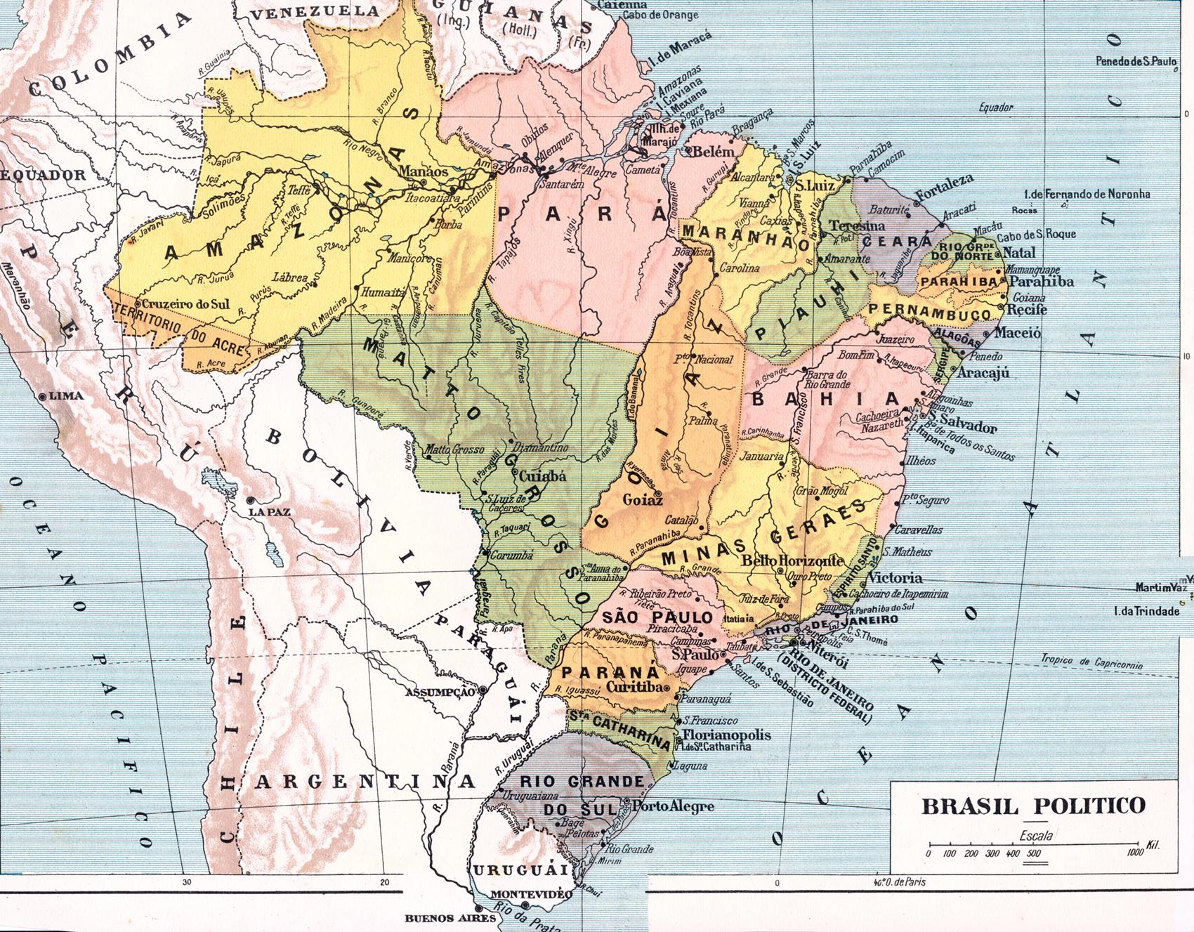Fig1 Mapa Do Brasil Jpg Pictures To Pin On Pinterest